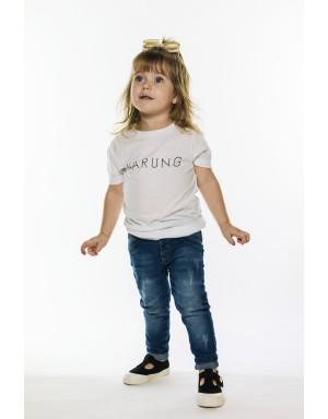 Camiseta Warung Brand  (White) KIDS