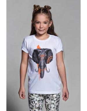 Camiseta Elephant  (Blanca)