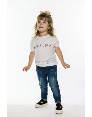 Camiseta Warung Brand  (White)
