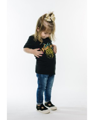 Camiseta Pineapple Black KIDS