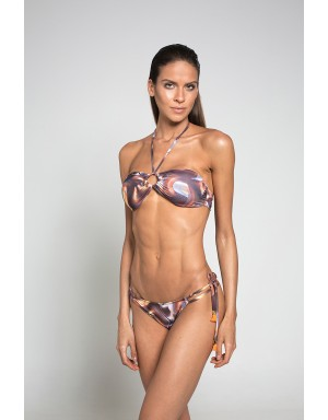 Vinyl Strapless Bikini (G-String)