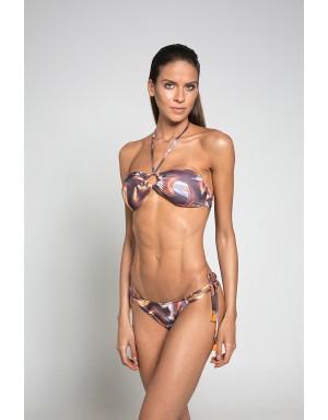 Vinyl Strapless Bikini (Cheeky Bottom)
