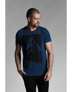 W Roof Tee (Blue)